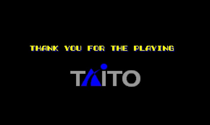 Thank You For the Playing (Taito)