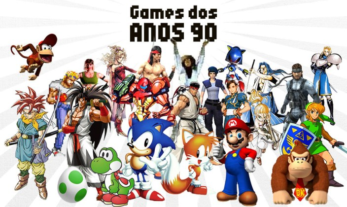 Top 10 games dos anos 90