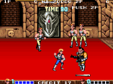 Double Dragon - fase final