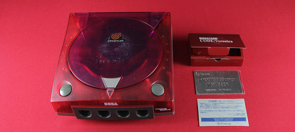 Dreamcast Biohazard Code Veronica Claire