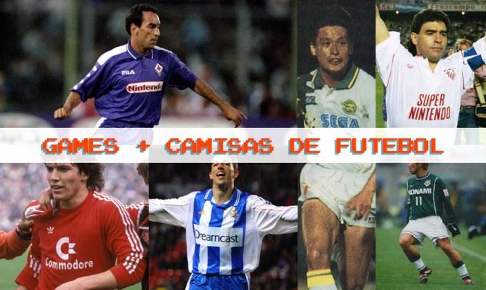 Uniformes de futebol e games