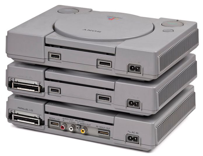 PlayStation traseira