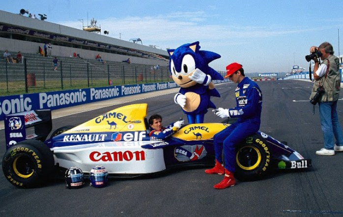 Williams 1993 com Sonic