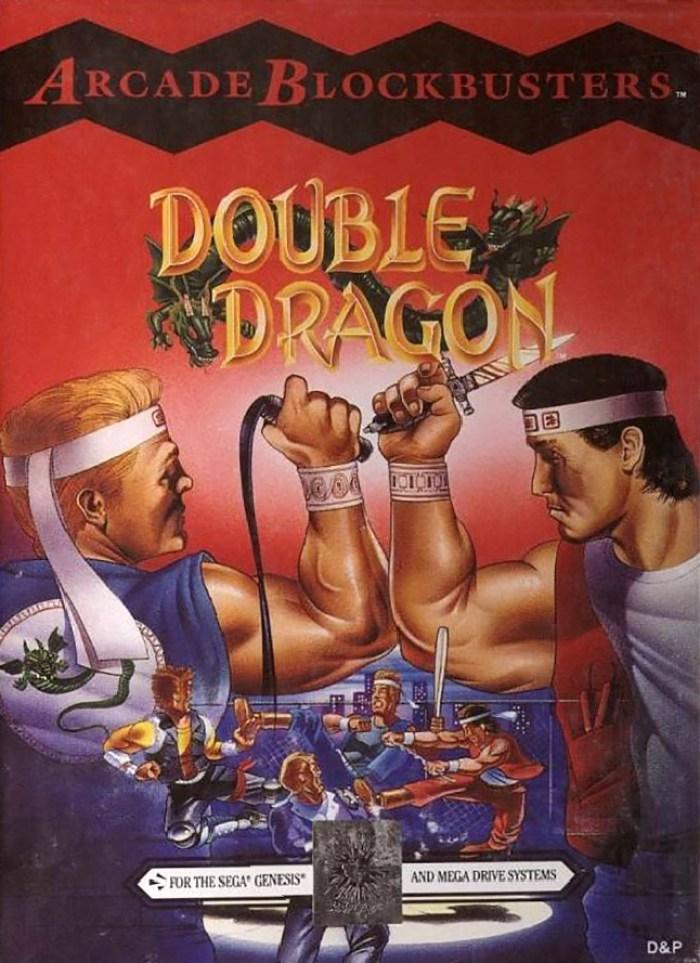 Double Dragon (Mega Drive) cover