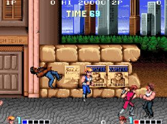 Double Dragon (arcade) - fase 1