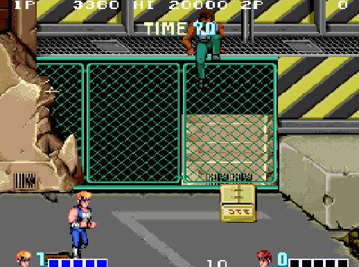 Double Dragon (arcade) - fase 2