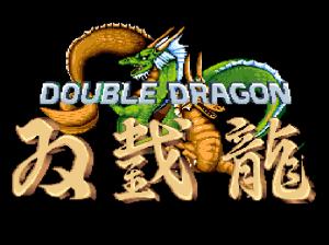 Double Dragon (arcade) screen title