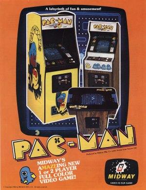 Pac-Man-Cabinets