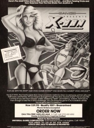 XMan Atari ad