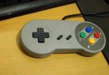 review controles snes usb padrao