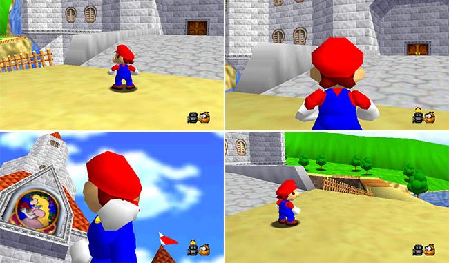 Super Mario 64 camera