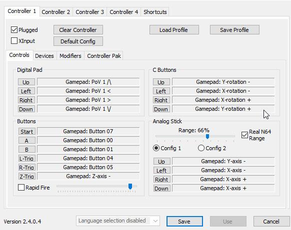 controle xbox 360 emulador project64