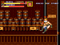 Skate Sammy Streets of Rage 2