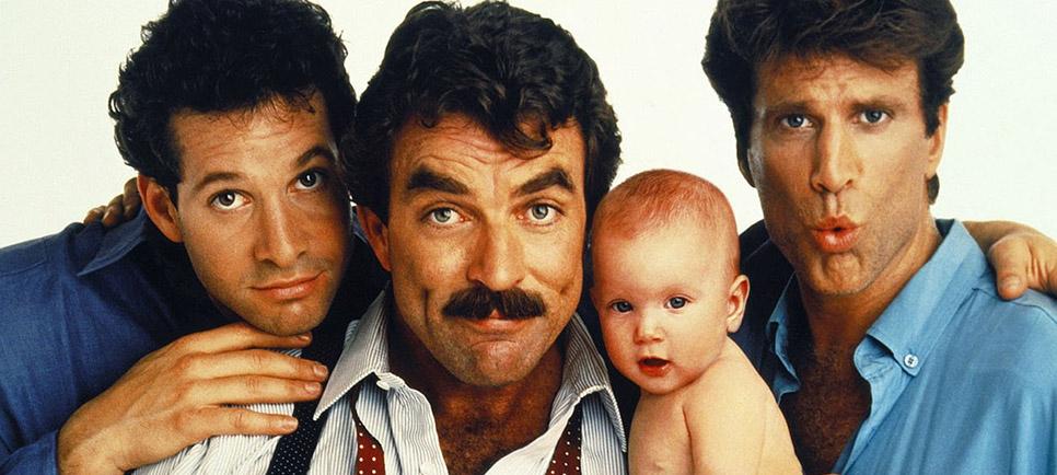 Três Solteirões e um Bebê (Three Men and a Baby, 1987)
