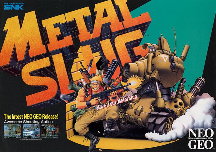 metal slug flyer arcade