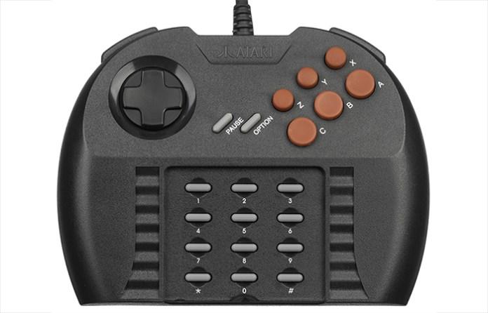 Atari-Jaguar-Pro-Controller-Flat