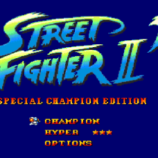 street fighter ii mega drive