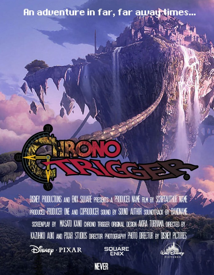 chrono trigger fictional movie poster memoriabit.com.br