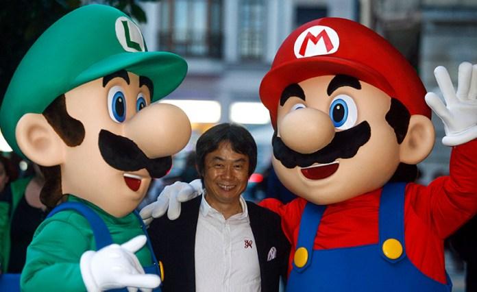 luigi miyamoto mario