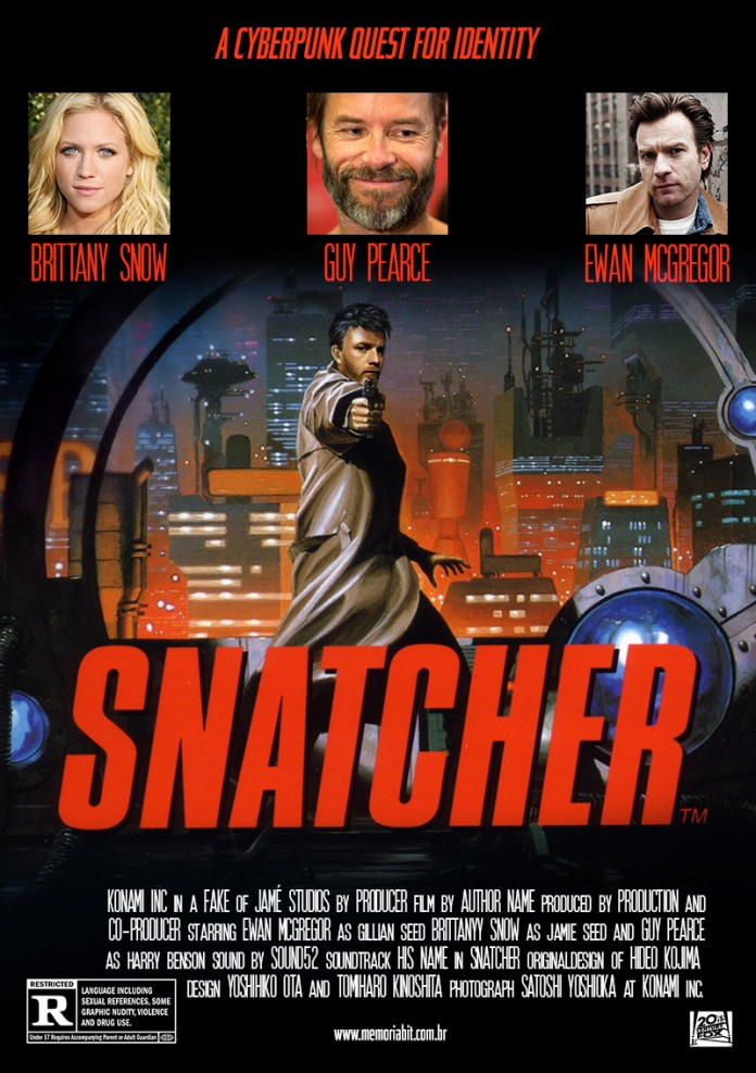 snatcher the movie fake