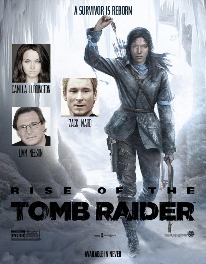 tomb raider raise ficticious poster memoriabit.com.br