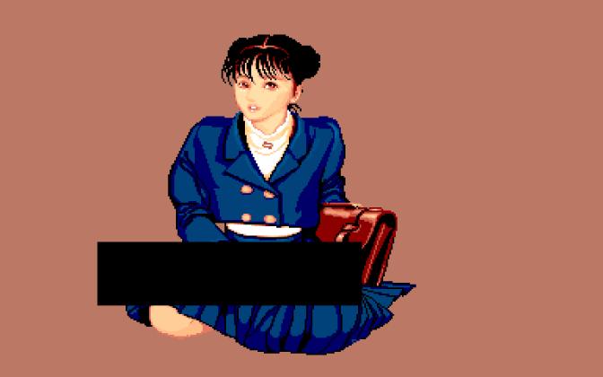 Mahjong Gakuen: estudante 1