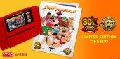 Street Fighter II SNES relançamento folhetos