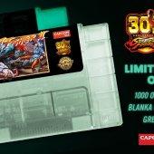 Street Fighter II SNES relançamento verde