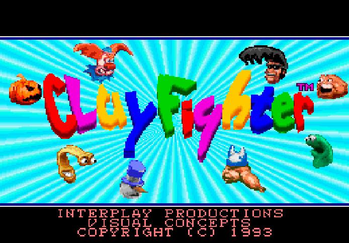 clayfighter snes tela titulo