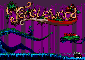 Tanglewood tela título