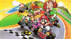 super mario kart japan art horizontal