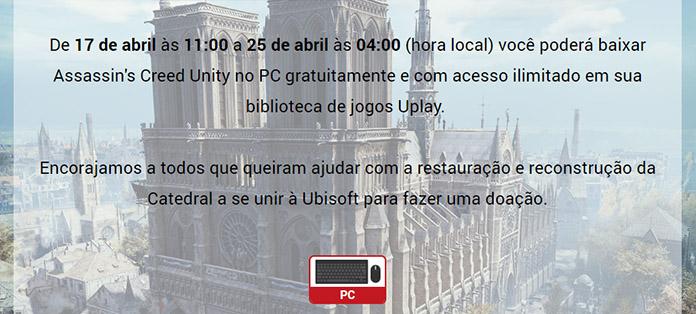 ac unity gratis ubisoft