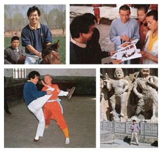 Yu Suzuki durante visita à China em 1994