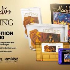 aladdin mega drive lionking snes iam8bit