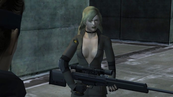 sniper wolf metal gearl solid twin snakes gamecube