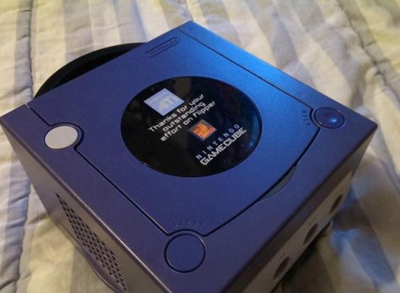 """GameCube """"Thanks ATI"""""""