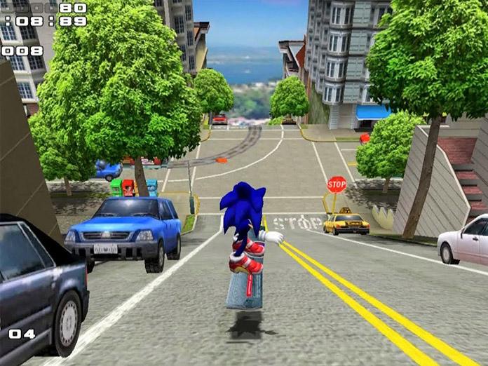 sonic adventure 2 gamecube