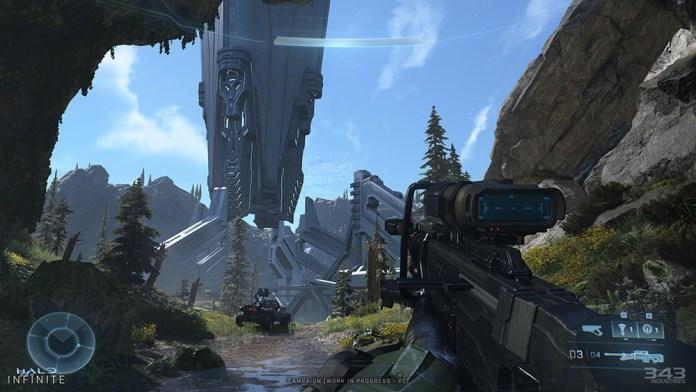 halo infinite melhoria grafica sniper
