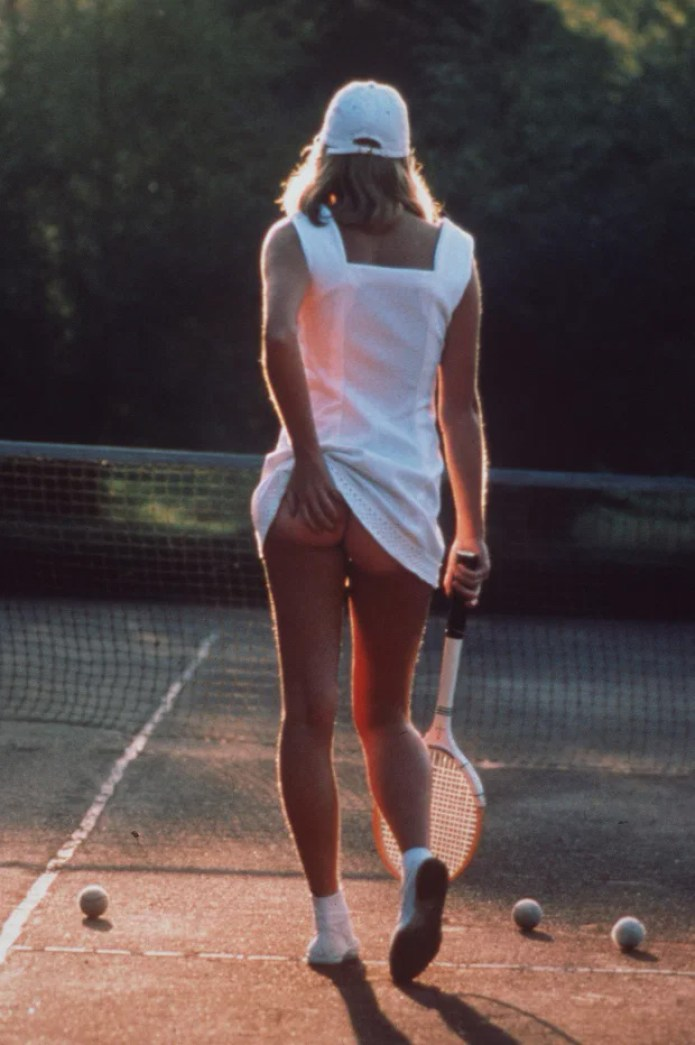 the tennis girl poster original