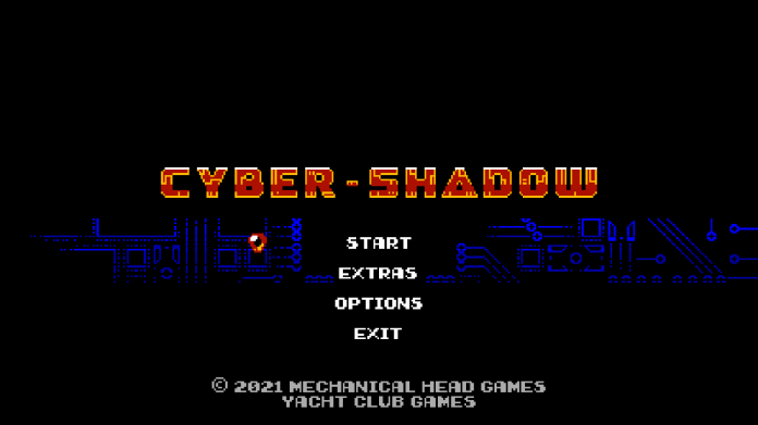 cyber shadow tela titulo