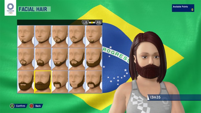 olympic games tokyo 2020 the official video game construtor de personagem