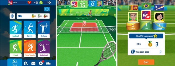rio 2016 olympic mobile game
