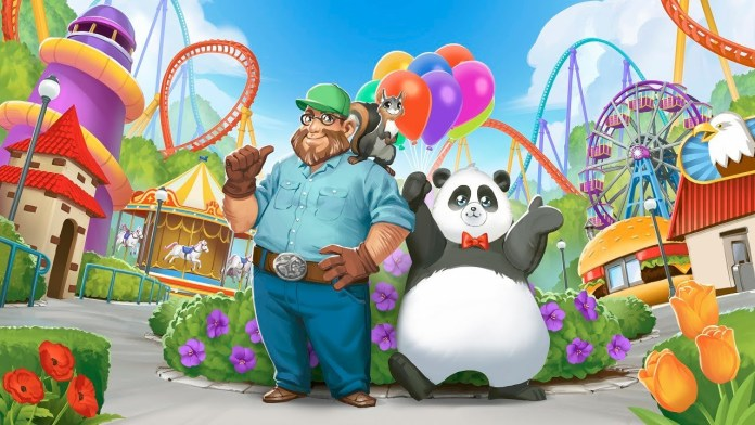 rollercoaster tycoon story arte oficial