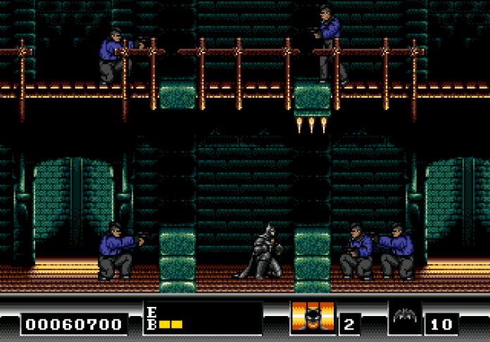 batman the video game mega drive