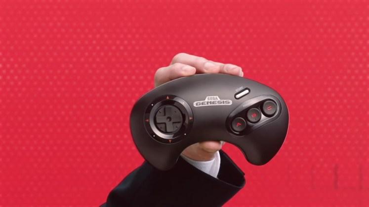 controle Sega Genesis wireless Switch