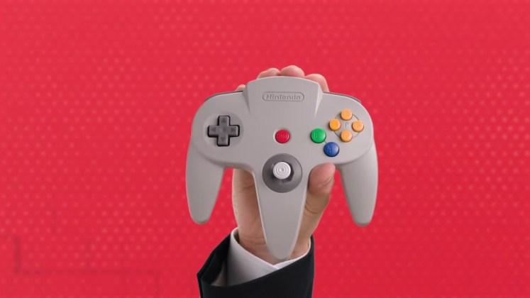 controle Nintendo 64 wireless Switch