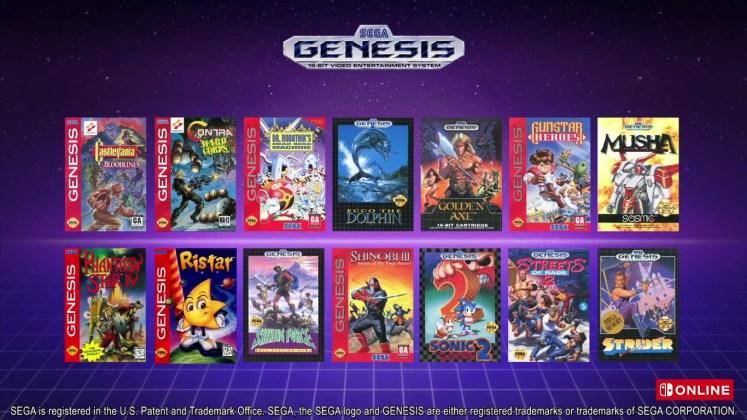 Jogos Mega Drive para o Switch
