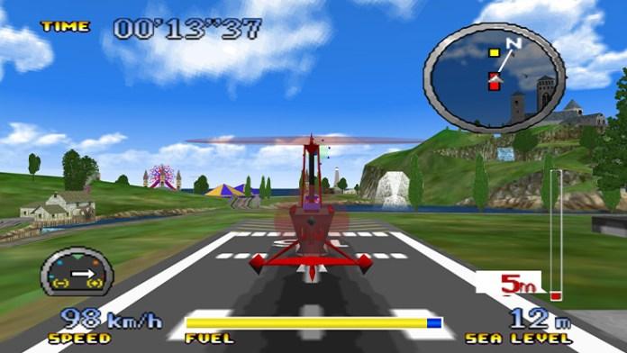 cena de pilotwings 64