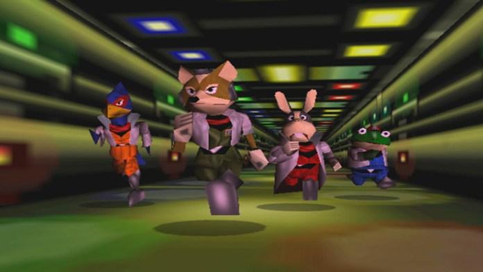 cena de star fox 64
