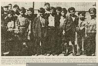 Niños trabajadores de Cristalería Chile, 1941